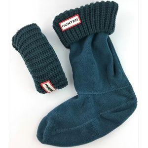 Hunter Kids Half-Cardigan Stitch Boot Socks